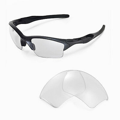 WL Clear Replacement Lenses For Oakley Half Jacket 2.0 XL Sunglasses