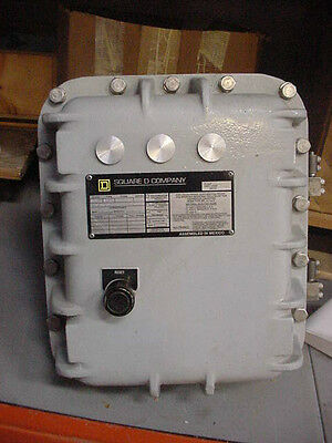 New Square D Explosion Proof Starter enclosure hzardous locations Class 8536