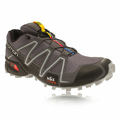 Salomon Speedcross 3 Mens Grey Light Trail Running Trainers Pumps Sports Shoes