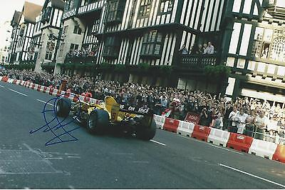 Nigel Mansell signed Image L 12x8 Photo UACC Dealer