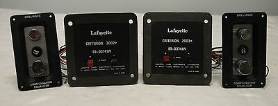 Vintage Lafayette Criterion 2002+  Crossover/Leveler Pair - Excellent Condition
