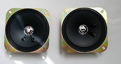 Speaker for Arcade Pinball machine 4 Inch 8 ohm 5W SET of 2 - Small Magnet
