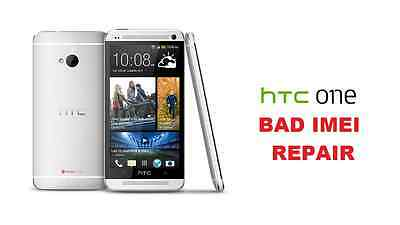 HTC One M7 T-Mobile version BAD IMEI ESN REPAIR Black List Fix *MAIL IN ONLY!*