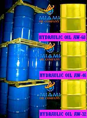 Aw-46 Hydraulic Fluid/ Oil * 55 Gallon Drum * 3500+ Hours * Also Aw-68 & Aw-32 *