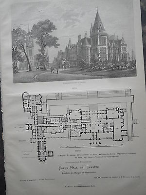 1881 Eaton Hall bei Chester