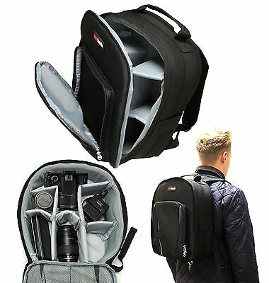 Backpack / Rucksack Carry Case Bag with Double Shoulder Strap for Action Pro X7