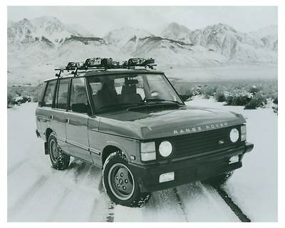 1989 Range Rover Automobile Photo Poster zch4213