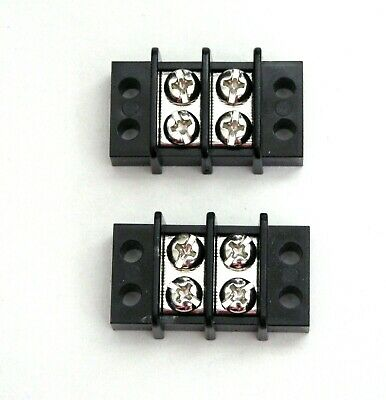 3 BBT Marine Grade 15 amp 8 Circuit Terminal Strip with Clear Safety Cover