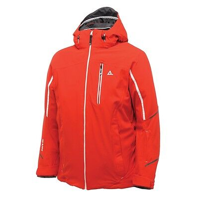 MEN/'S DARE2B DOWNFORCE RED WATERPROOF AND BREATHABLE SKI AND WINTER JACKET.