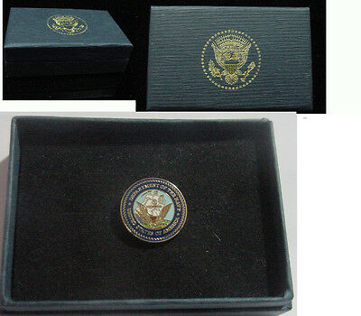 presidential department of navy lapel pin . New