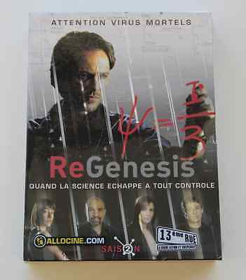 DVD Série TV REGENESIS SAISON 2 COFFRET 4 DVD Peter Outerbridge Maxim Roy NEUF 1