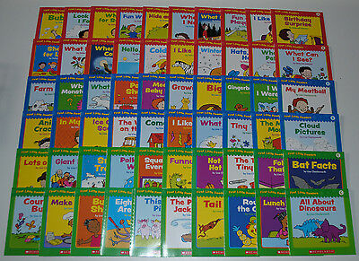 Huge Set 60 Level A B C Reading Books PreK Kindergarten Preschool Homeschool