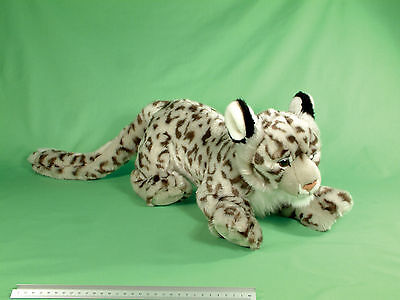 Large 70Cm Premium Ark Toys Snow Leopard Soft Cuddly Toy Plush Stuffed Teddy