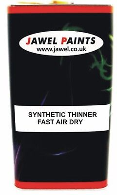 Commercial Paint THINNER  Synthetic SLOW air dry or low bake 5lt Size