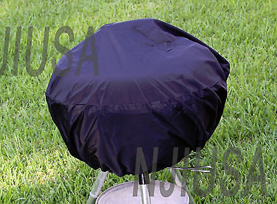 "BBQ Grill Cover w/ drawstring fits Weber Jumbo Joe Gold 18"" tabletop model"