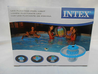 Intex Floating LED Hot Tub, Spa & Pool Light - Flood Or Disco Light!