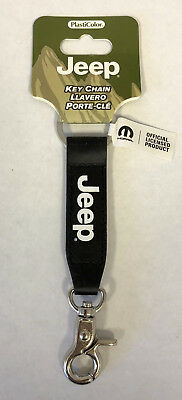 Jeep Leather Strap Fob Key Chain Plasticolor NEW