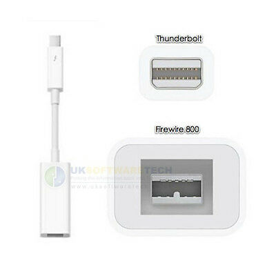 Official Apple Thunderbolt to FireWire Adapter For MacBook Mini - MacBook Pro