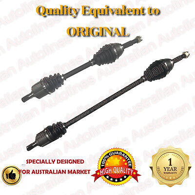 1 Pair Hyundai Accent Manual Brand New CV Joint Drive Shafts 2000-4/06