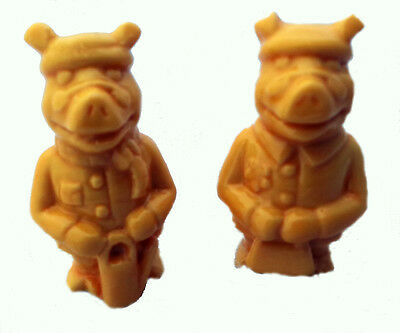 Wade Orange Pig Whimsies Lord Henry and Lady Margaret