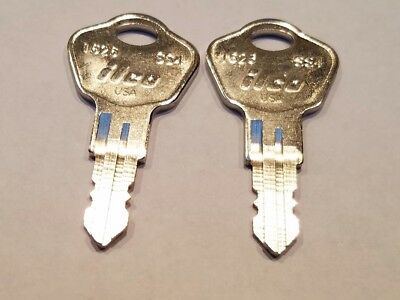 (2) Sentry Safe Keys Precut To Key Code 3C2 Model 1100 & More