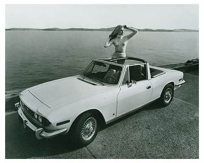 1971 V8 Triumph Stag 2+2  Luxury Grand Touring Convertible Factory Photo ch4520