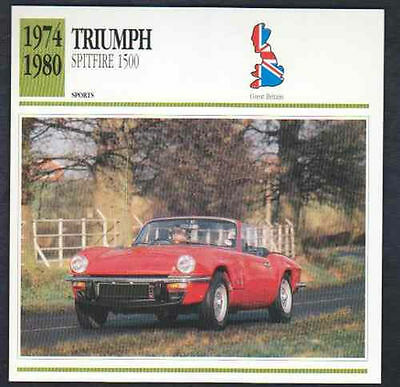 New 1974-1981 TRIUMPH Spitfire 1500 Triple Lower Rocker Side Body Stripe Kit
