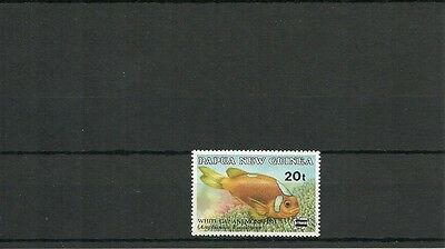 Papua  New Guinea Sg 602 Surcharged  Mnh