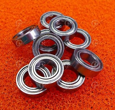 10 PCS - MR148ZZ (8x14x4 mm) Metal Double Shielded Precision Ball Bearing MR148Z
