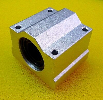 4 PCS - SCS8UU (8mm) Metal Linear Ball Bearing Pillow Block Unit FOR CNC (SC8UU)