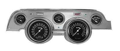Classic Instruments 67-68 Ford Mustang Gauges Cluster w/ Brushed Aluminum Bezel
