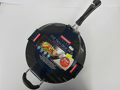 "Typhoon Living 11.5"" Non-Stick Wok (With Free 8"" Wok) Item: 1400.483"