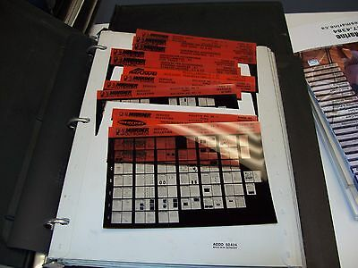 Microfiche Mariner Outboards 1981-1996 Parts Diagrams