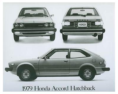 1979 Honda Accord Hatchback Automobile Photo Poster zch4414