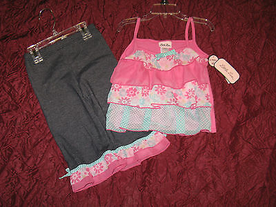 Girls New 2 piece outfit set by Little lass summer clothing