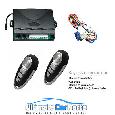 Keyless Car Entry System Universal Remote Control Upgrade Kit UK Supplied BEST 1