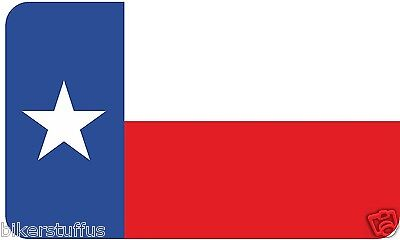Texas Flag Bumper Sticker Laptop Sticker Toolbox Sticker Window Sticker