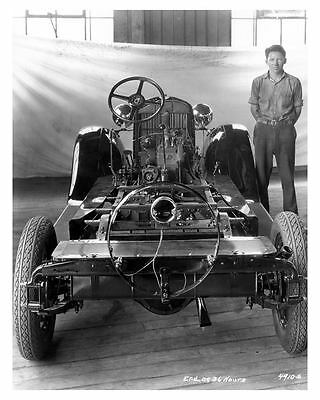 1929 Essex Chassis Factory Photo uc6282