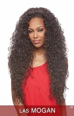 Las Mogan - Vanessa Synthetic Super Express Weave Half Wig Long Curly