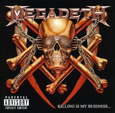Killing Is My Business - Megadeth (2002, CD New)