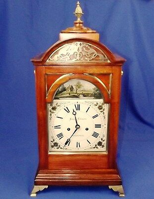 Fine Twin Fusee Regency Bracket Clock By Joseph Johnson 1780-1827