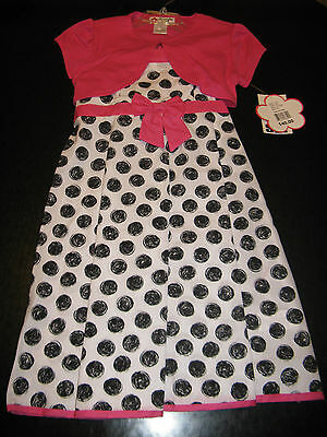 Girls New 2 piece outfit dress and shrug by Specialty girl