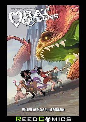 RAT QUEENS VOLUME 1 SASS and SORCERY GRAPHIC NOVEL New Paperback Collects #1-5