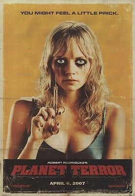 GRINDHOUSE ~ PLANET TERROR ~ A LITTLE PRICK 24x36 MOVIE POSTER Marley Shelton