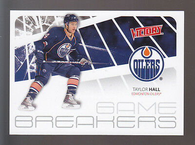 TAYLOR HALL Edmonton Oilers 2011-12 UD VICTORY GAME BREAKERS INSERT CARD #GB-TH