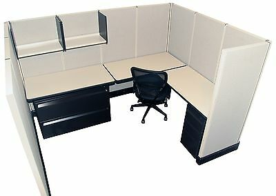 Herman Miller AO2 6'x8' Office Cubicles / Workstations Refurbished Furniture