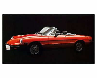 1980 Alfa Romeo Spider Veloce Automobile Photo Poster zm2349