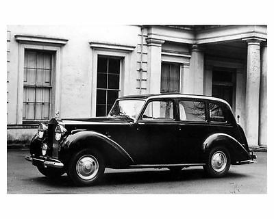1948 Rolls Royce Silver Wraith Park Ward Automobile Photo Poster zm2373