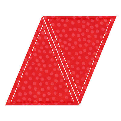 """AccuQuilt GO! Triangle-Isosceles-5""""x6"""" Fabric Cutting Die 55016 Quilting Sewing"""