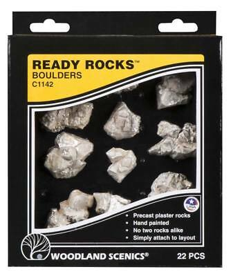 NEW Woodland Scenics Ready Rocks Boulder Rocks C1142